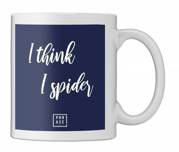 I think I spider | Tasse