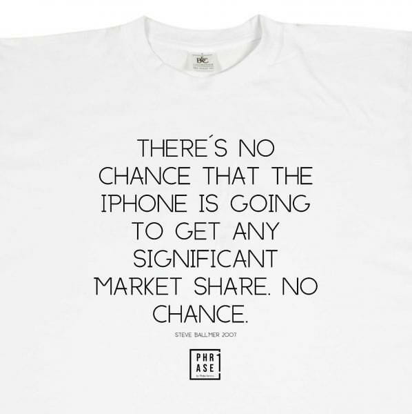 There´s no chance that the ... | T-Shirt