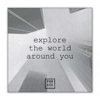 Explore the world around you | Leinwand