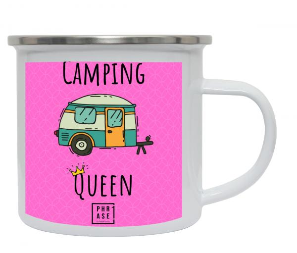 Camping Queen | Emaille Becher