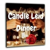 Candle Leid Dinner | Wandbild