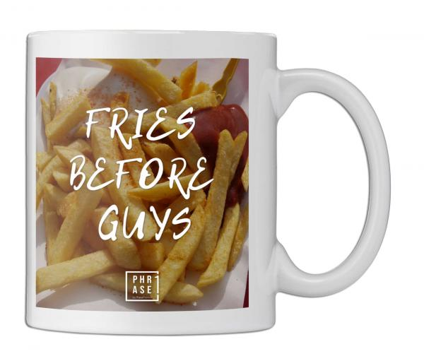 Fries before guys⠀ | Tasse