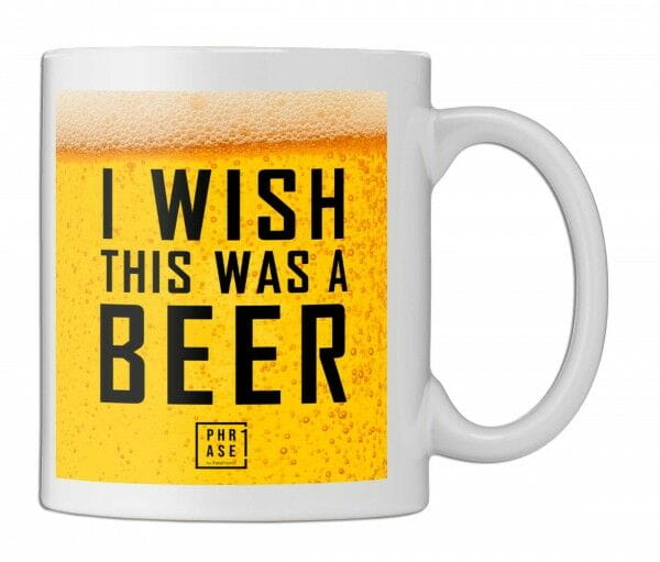 I wish this was a beer | Tasse