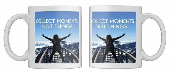 collect moments not things | Tasse