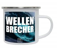 Wellenbrecher | Emaille Becher
