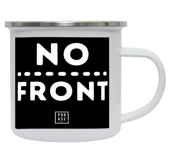 No Front | Emaille Becher